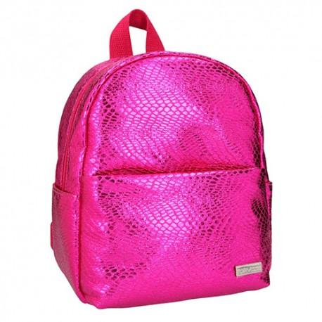 Mini batůžek Top Model Tmavě růžový