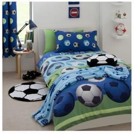 Dětské povlečení Fotbal modré